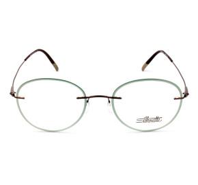 Silhouette 5500 GY - Cinza/Grafite 6140 51mm - Óculos de Grau