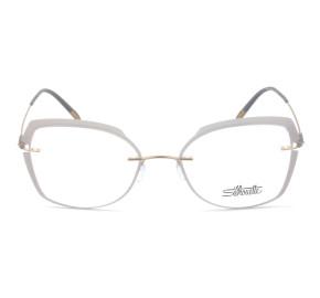 Silhouette 5500 GW - Cinza/Dourado 3730 54mm - Óculos de Grau
