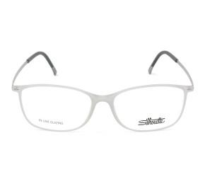 Silhouette SPX 1572 - Cinza Translúcido 10 6100 52mm - Óculos de Grau