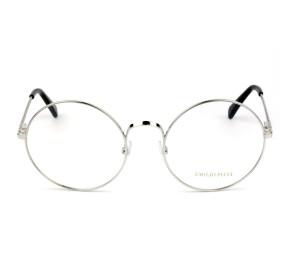 Emilio Pucci EP 5061 - Prata 018 55mm - Óculos de Grau