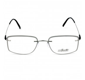 Silhouette 5500 GX - Cinza/Grafite 6860 52mm - Óculos de Grau