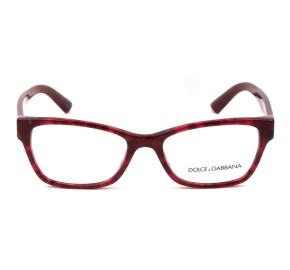 Dolce & Gabbana DG3274 - Vinho 3175 52mm - Óculos de Grau