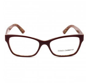 Dolce & Gabbana DG3274 - Vinho/Dourado 3205 54mm - Óculos de Grau