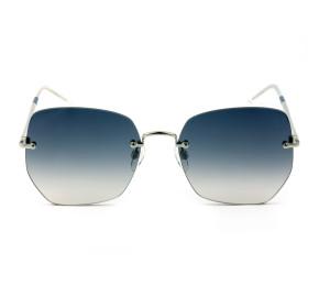 Tommy Hilfiger TH1667/S - Azul Degradê/Prata KUFI4 57mm - Óculos de Sol