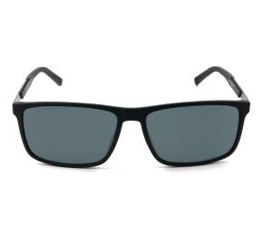Tommy Hilfiger TH1675/S Preto Fosco/Cinza 003IR 59mm - Óculos de Sol