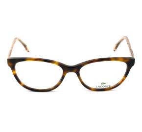 Lacoste L2850 - Turtle/Dourado 214 53mm - Óculos de Grau