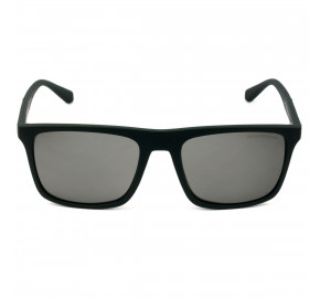 Emporio Armani EA 4097 Preto Fosco/Cinza Espelhado Polarizado 5042/Z3 56 - Óculos de Sol