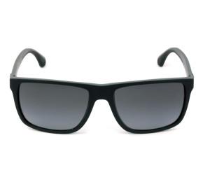 Emporio Armani EA 4033 Preto Fosco Cinza Polarizado 5229/T3 56mm - Óculos de Sol