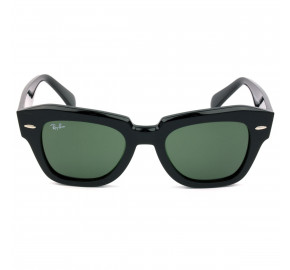 Ray Ban RB2186 State Street Preto/G15 901/31 49mm - Óculos de Sol