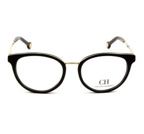 Carolina Herrera VHE124 Preto 0700 51mm - Óculos de Grau