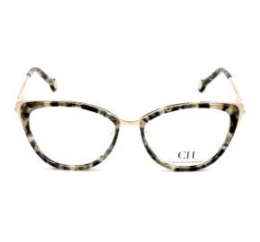 Carolina Herrera VHE853 Dourado/Mesclado 09BB 53mm - Óculos de Grau