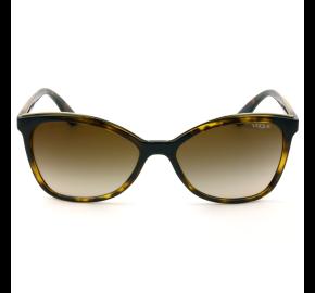 Vogue VO5159SL - Turtle/Marrom Degrade W65613 58mm - Óculos de Sol