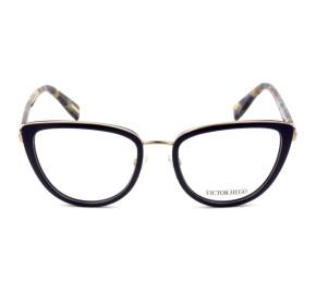 Victor Hugo VH1273 Azul/Mesclado 09GU 52mm - Óculos de Grau