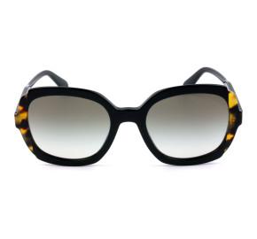 Prada SPR 16U Preto/Cinza Degradê 389-0A7 54mm - Óculos de Sol