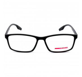Prada Linea Rossa VPS04M Preto Fosco 1BO-1O1 56mm - Óculos de Grau