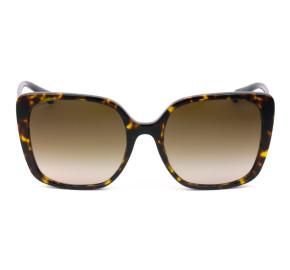 Bvlgari 8225-B Turtle/Marrom 504/13 56mm - Óculos de Sol