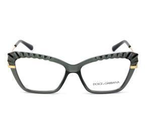 Dolce & Gabbana DG5050 Preto 3160 54mm - Óculos de Grau