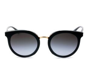 Dolce & Gabbana DG4371 Preto/Cinza5383/8G 52mm - Óculos de Sol