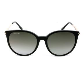 Lacoste L928S Preto/Cinza Degradê 001 56mm - Óculos de Sol