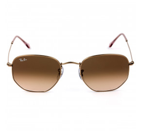 Ray Ban Hexagonal RB3548NL Bronze/Marrom Degradê 9069A5/54mm - Óculos de Sol