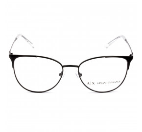 Armani Exchange AX1034 Preto Brilho 6000 52mm - Óculos de Grau