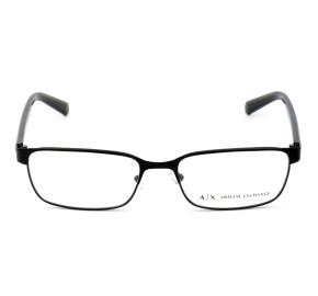 Armani Exchange AX1042 Preto Fosco 6063 56mm - Óculos de Grau