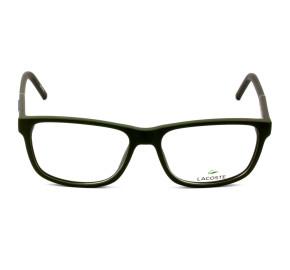 Lacoste L2866 Verde Escuro 315 56mm - Óculos de Grau
