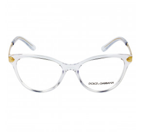 Dolce & Gabbana DG5042 Transparente 3133 52mm - Óculos de Grau
