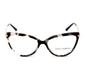 Dolce & Gabbana DG3295 Mesclado 3120 55mm - Óculos de Grau