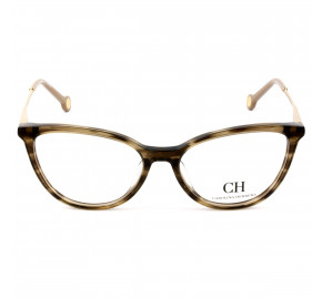 Carolina Herrera VHE817 Marrom 06YH 53mm - Óculos de Grau