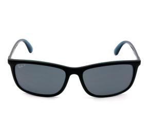 Ray Ban RB4328L Preto Fosco/Cinza Polarizado 6504/XY 63mm - Óculos de Sol