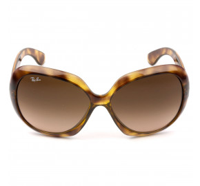 Ray Ban Jackie Ohh II RB4098 Turtle/Marrom Degradê 642/A5 60mm - Óculos de Sol