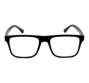 Emporio Armani Clip-on EA4115 Preto Fosco 5853/1W 54mm - Óculos de Grau