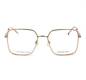 Tommy Hilfiger TH1728 - Dourada DDB 54mm - Óculos de Grau