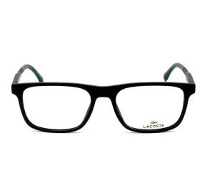 Lacoste L2875 Preto Fosco 001 55mm - Óculos de Grau