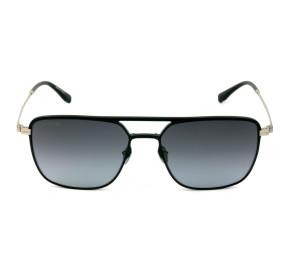 Lacoste L242SE Preto Fosco/Cinza Degradê 001 57mm - Óculos de Sol