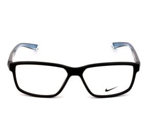 Nike Live Free 7092 - Preto Fosco/ Azul 014 53mm - Óculos de Grau