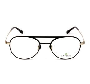 Lacoste L2274E Preto Fosco 001 53mm - Óculos de Grau