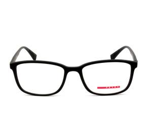 Prada Linea Rossa VPS04L Preto Fosco DG0-1O1 55mm - Óculos de grau