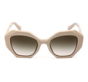 Prada SPR16W Nude /Marrom Degradê VYJ-0A6 53mm - Óculos de Sol