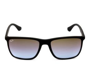 Ray Ban RB4288L Preto Fosco/Marrom Degradê 601S48 57mm - Óculos de Sol