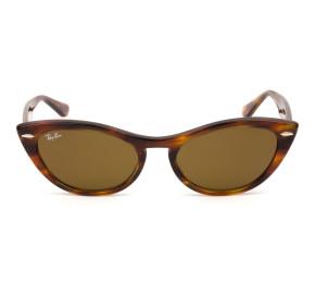Ray Ban Nina RB4314 Turtle/Marrom 954/33 54mm - Óculos de Sol
