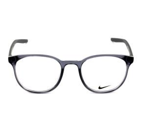 Nike 7128 Cinza Translucido 034 50mm - Óculos de Grau