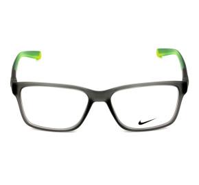 Nike Live Free 7091 Cinza Fosco/Verde 065 54mm - Óculos de Grau