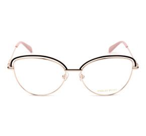Emilio Pucci EP 5170 Dourado/Preto/Rosa 005 55mm - Óculos de Grau