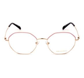 Emilio Pucci EP 5169 Rosa/Dourado 028 54mm - Óculos de Grau