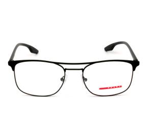 Prada Linea Rossa VPS50N Preto Fosco 489-1O1 54mm - Óculos de Grau