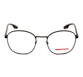 Prada Linea Rossa VPS51N Preto Fosco 1BO-1O1 53mm - Óculos de Grau