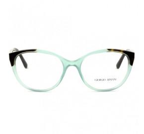 Giorgio Armani AR7138 - Verde/Turtle 5583 52mm - Óculos de Grau