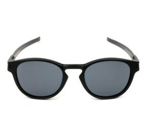 Oakley Latch OO9265L - Preto Fosco/Cinza 53mm - Óculos de Sol
